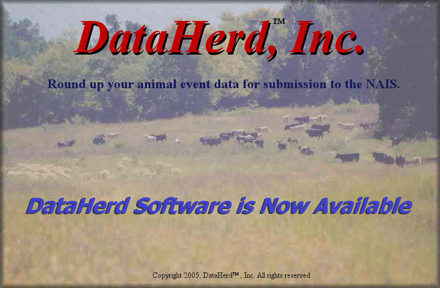 Click here to enter the DataHerd (TM) website